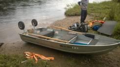 Лодка алюминий амг привезена из японии Grumman 1999год. Год: 1999 год, длина 3,60м., двигатель без двигателя, 15,00л.с., бензин