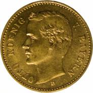 Золотая монета Король Баварии Отто. Под заказ
