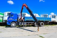 Камаз 65117. Автомобиль с краном-манипулятором , 6 700 куб. см., 6 100 кг., 8 м.