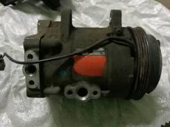 Компрессор кондиционера. Nissan Cedric, Y31 Двигатели: VG20DET, VG20DT, VG20E