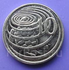 10 центов 2008 г., Каймановы острова