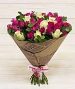 Доставка и продажа букетов и свежесрезанных цветов.