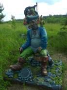 Статуи, барельефы, декоративная выкладка плиткой