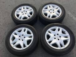 Диски Mercedes-Benz R17 с резиной ContiSportContact 225/55/R17. 7.5x17 5x112.00 ET46 ЦО 66,6мм.