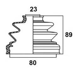 Пыльник привода Avantech AVANTECH BD0503