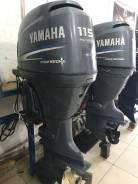 Yamaha. 115,00л.с., 4-тактный, бензиновый, нога X (635 мм), Год: 2001 год