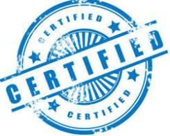 Сертификация товаров и услуг!