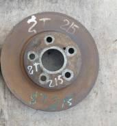 Диск тормозной. Toyota Caldina, ST190, ST190G, ST210, ST210G, ST215, ST215G, ST215W Двигатели: 3SFE, 3SGE, 3SGTE