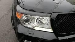 Накладка на фару. Toyota Land Cruiser, GRJ200, J200, URJ200, URJ202, URJ202W, UZJ200, UZJ200W, VDJ200