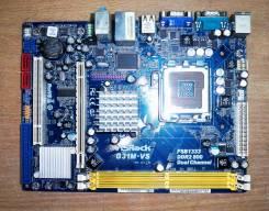 Материнская плата LGA775 2DDR2 1PCI-Ex16 ASRock-G31M-VS(G31)