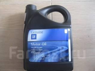 General motors. Вязкость 5W-30, минеральное