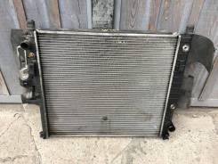 Радиатор охлаждения двигателя. Mercedes-Benz M-Class, W163