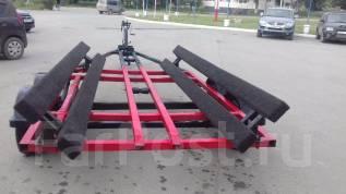 Прицеп для катера длиной до 23 футов (7м. ). Г/п: 2 000 кг., масса: 350,00кг.