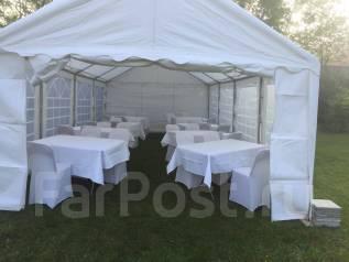 Аренда шатров и мебели для празников и кейтеринга