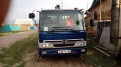 Hino Ranger. Продам отличный грузовик с манипулятором 2001 г/в., 8 000 куб. см., 5 000 кг., 8 м.