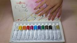 Краски для росписи ногтей.