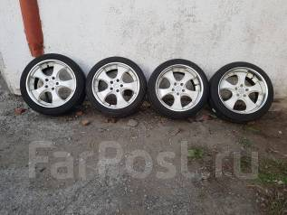 Продам комплект Разношироких колес фирмы AME (Enkei). 8.0/9.0x18 5x114.30 ET38/38