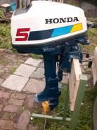 Honda. 5,00л.с., 4-тактный, бензиновый, нога S (381 мм), Год: 1994 год
