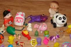 Огромный лот маленьких игрушечек для девочки