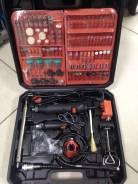 Гравер электрический бормашина PIT PMG 200-C (236 предметов)