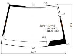 Стекло лобовое. Toyota Allion, ZZT240 Toyota Premio, ZZT240