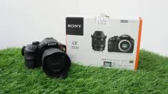 Зеркальная фотокамера SONY Alpha A3500 Kit (20.1 Мп) в Зеленом. 20 и более Мп