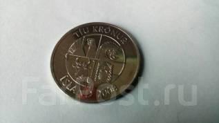Исландия 10 крон 2008 год. Возможен обмен на монеты значки и другое