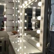 Изготовление гримёрных зеркал