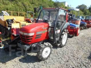 Yanmar. Трактор 4 wd, кабина, реверс, ГУР, фреза