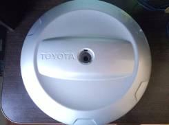 Колпак запасного колеса. Toyota RAV4, ACA28, ACA21, CLA20, ACA20, ACA23, CLA21, ZCA25, ACA26, ZCA26 Двигатели: 1AZFE, 1ZZFE, 1CDFTV, 2AZFE, 1AZFSE