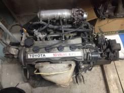 Двигатель в сборе. Toyota Sprinter Carib, AE95G, AE95 Двигатель 4AFE