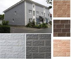 Бескаркасная отделка с утеплением фасада зданий различного назначения
