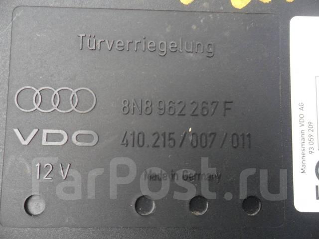 Механизм центрального замка. Audi TT, 8N Двигатель AUQT