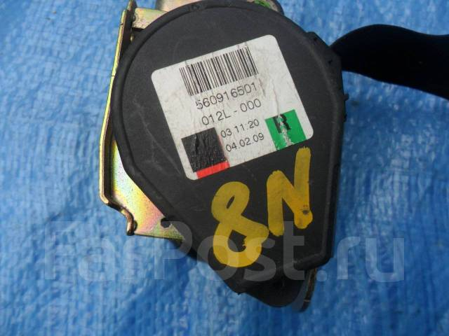 Ремень безопасности. Audi TT, 8N Двигатель AUQT