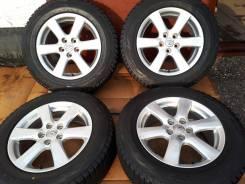 Зима колеса на RAV-4 Toyota R17+жирные шины Bridgestone 225/65/17. 7.0x17 5x114.30 ET45 ЦО 60,1мм.