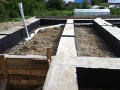 Фундамент. Монолитные работы(подвал, цоколь, плита, ростверк, перекрытия)