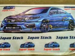 Тросик ручного тормоза. Toyota Caldina, ST215G, ST215W, ST215