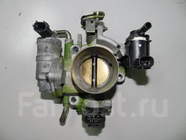 Заслонка дроссельная. Mazda Mazda3, BK Двигатели: MZR, Z6
