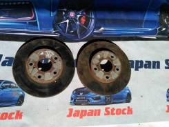 Диск тормозной. Toyota Crown, JZS171, JZS171W, JZS173, JZS173W, JZS175, JZS175W Двигатели: 1JZGE, 2JZGE