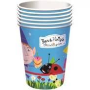 Набор бумажных стаканов Бен и Холли