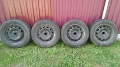 Комплект зимних колес Toyo. 6.0x15 5x108.00 ET52.5 ЦО 63,3мм.