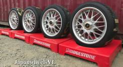 406 JDM - Япония - Monoblock - Крепкие - Huhrer Racing Jebring + Лето. 7.5x17 4x114.30, 5x114.30 ET33 ЦО 70,4мм.