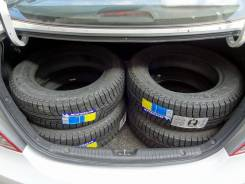 Michelin X Radial. Зимние, без шипов, 2017 год, без износа, 4 шт