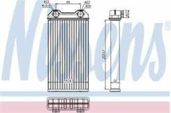 Радиатор отопителя. Nissan Primastar Renault Trafic Opel Vivaro Двигатели: F4R, F9Q, G9U, M9R