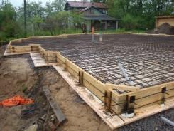 Строительство фундаментов / заборов / подпорных стен