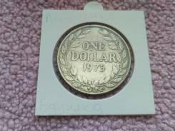 Редкий 1 Доллар 1975 года Либерия