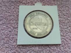 Нечастый 1 Доллар 1976 года Либерия