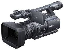 Sony HDR-FX1000E. 10 - 14.9 Мп, с объективом
