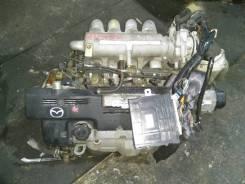 Двигатель в сборе. Mazda Familia Mazda Familia S-Wagon Двигатель ZL