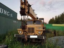 Ивановец. Автокран УРАЛ ивановец, 10 000 куб. см., 14 000 кг., 14 м.